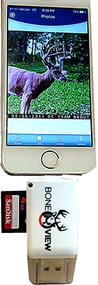 Boneview Card Reader for iPhone/iPad w/LED