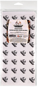 "SPG Realtree All Purpose Xtra Camo Tissue Paper 5 Sheets 26""x20"""