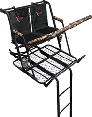 X-Stand The Jayhawk 20' Two-Man Ladder Stand Treestand