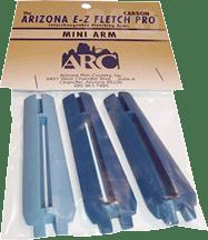 Carbon Mini EZ Fletch Arms - 3 Pack