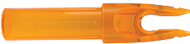 Eastman Launch Pad Precision Nock .244 Clear Orange - 1 Dozen