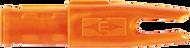 Easton 3D Super Uni Nocks Flo Orange - 1 Dozen