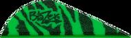 """Bohning Blazer Vanes 2"""" Green Tiger - 100 Pieces"""