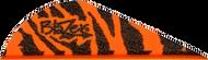 """Bohning Blazer Vanes 2"""" Orange Tiger - 100 Pieces"""