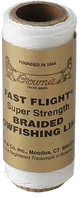 Brownell Fast Flight Bowfishing Line White 100ft