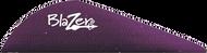"""Bohning Blazer Vanes 2"""" Purple - 100 Pieces"""
