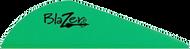 """Bohning Blazer Vanes 2"""" Neon Green - 100 Pieces"""