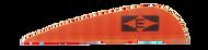 Easton Diamond Vanes 380 Fire Orange - 100 Pieces