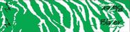 "Bohning Blazer Carbon Wrap 4"" Green & White Tiger - 12 Pieces"