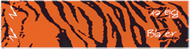 Bohning Blazer Carbon Orange Tiger Wrap - 1 Dozen