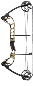 "2015 Quest Radical Realtree All Purpose Bow Only RH 25"" 30# Compund Bow"