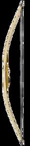 "2015 Ragim Fox Custom 62"" Left Hand 50# Recurve Bow"