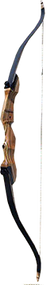 """Western 2015 Monarch Takedown Bow Black Limbs Right Hand 62"""" 35# Recurve Bow"""