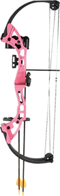 2015 Brave Youth Bow Pink Right Hand w/Accessory Package