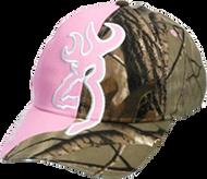 Browning Big Buckmark Hat Realtree Xtra/Pink