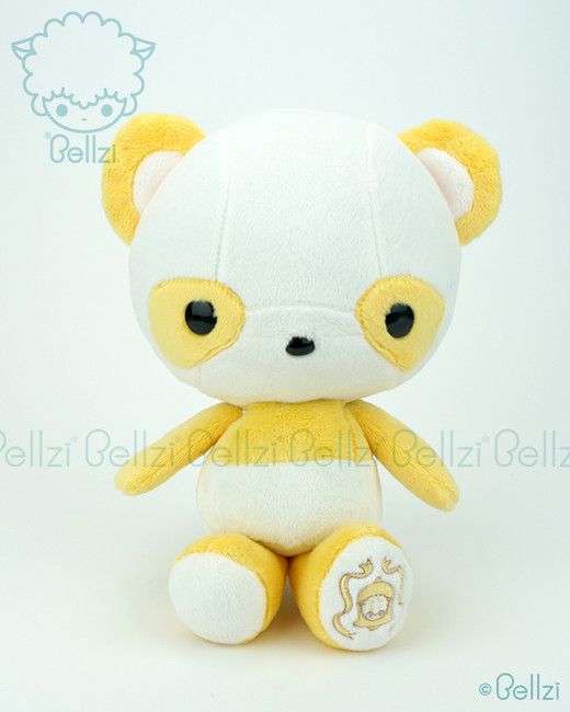 Bellzi® Cute Yellow Panda Stuffed Animal Plush Toy - Pandi