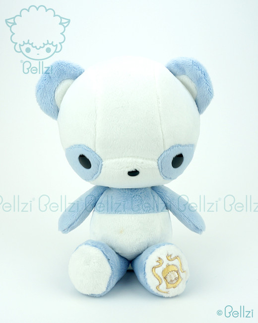 Bellzi® Cute Blue Panda Stuffed Animal Plush Toy - Pandi