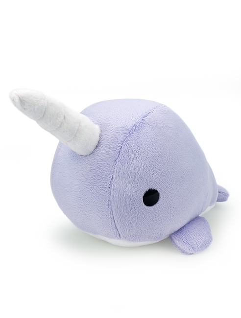 Bellzi® Cute Purple Narwhal Stuffed Animal Plush Toy - Narrzi