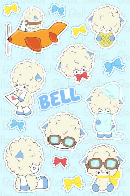 Bellzi® Bell Stickers