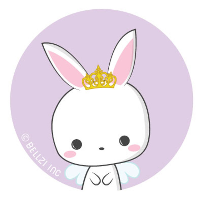 Bellzi® Bunni Princess Pin