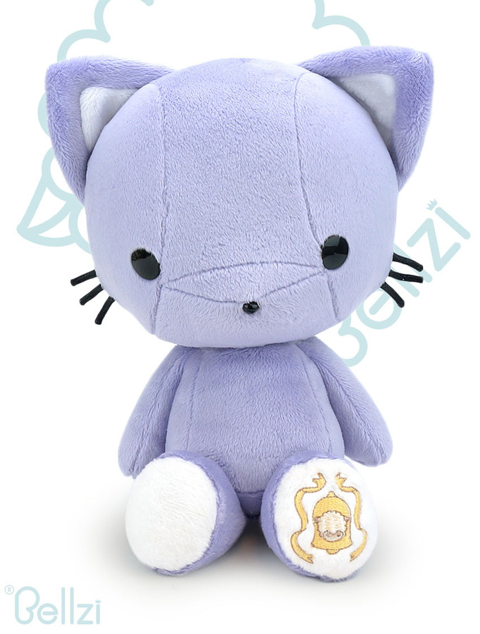 Bellzi® Cute Lavender Purple Kitty Cat Stuffed Animal Plush Toy - Kitti