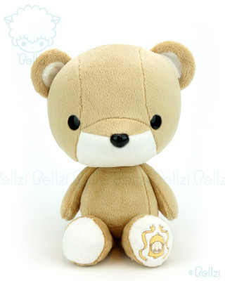 Bellzi® Cute Brown with White Bear Stuffed Animal Plush Toy - Teddi
