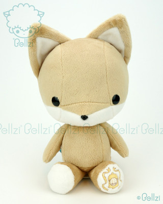 Bellzi® Cute Brown Fox Stuffed Animal Plush Toy - Foxxi