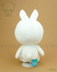 Bunny Rabbit Stuffed Animal Plush Toy - White with Tiffany Teal
