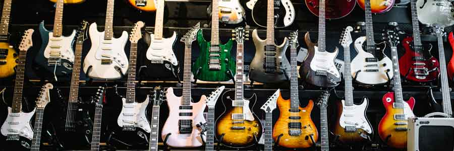 MAssive Range of Electric Guitars Melbourne
