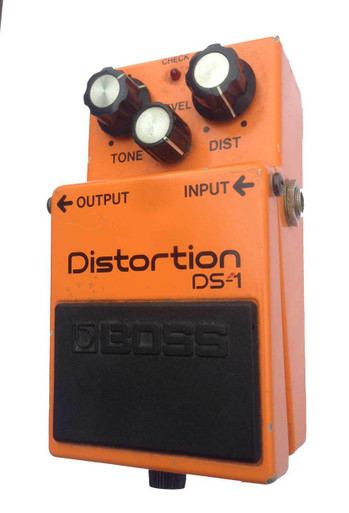 boss ds1 distortion pedal made in japan. Black Bedroom Furniture Sets. Home Design Ideas