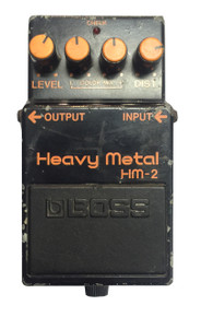 Boss HM 2  Heavy Metal Distortion Pedal MIJ