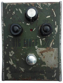 Russian Big Muff Green Tall Font Guitar Pedal