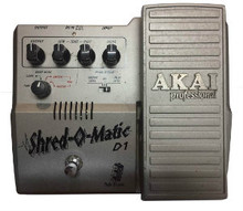 Akai Shred-O-Matic D1 Tube-Driven Overdrive / Distortion Guitar Pedal