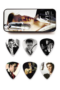 Elvis Presley Pick tin with 6 picks