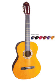 Valencia Full size Nylon String Guitar Package