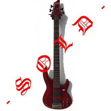 LTD 5 String Bass B255
