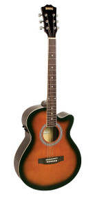 Redding RGC51CE Semi Acoustic Guitar