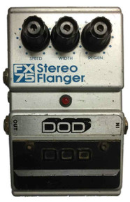 DOD FX75 Stereo Flanger Guitar Effects Pedal