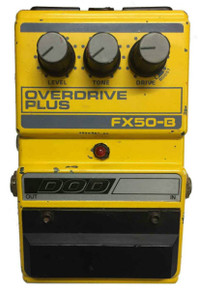 Dod FX50B Overdrive Plus Guitar Effects Pedal