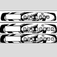 X310810 Master Spas Topside MAS500 Scrolling Control Panel (MAS550/525/500) '02-'00 Models