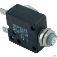 Spa Circuit Breaker, Panel Mount, 3A, 120v