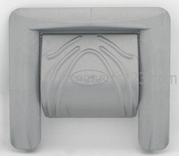 PLU21600281 Cal Spa WEIR GATE, SMALL, SILVER '08 (#CS5500289-S)