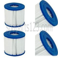 "5"" x 4-5/8"" PDC Spa 17 sq. ft. Filter Element ( 2000-2005 Timeless and XTR ) PRB17.5-SF, C-4401, FC-2386 (Sold as Pair)"