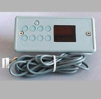 L.A. Spas Upper Control Panel, 3000/2500, Gecko MSPA-MP-LA2, TSC-8, 6 Button, LCD, PL-49920