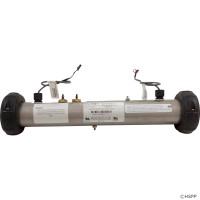 """58109 Balboa Spa Heater, Flo Thru, M&, 15"""" x 2"""", 4.0KW, 230V, W/ Sensors"""