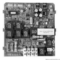 Hydro-Quip Circuit Board Deluxe Series 120v Rev 5 (Prior 5/03) (33-0010-R5) 33-0010, 9286-010