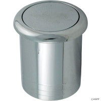Spa Air Button, Flush Econo Button, Chrome