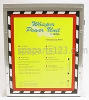 ELE09016000 Cal Spa Equipment Control Box W/FIBEROPTIC PLUG SYS4001SS