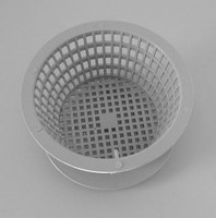Dynasty Spas Filter Part, Rainbow DFM Series, Pentair, Basket with Restrictor Assembly, Gray, 10792