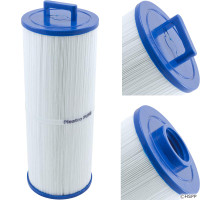 "Dynasty Spa Filter, 50sqft, ht, 1-1/2""Fem SAE b, 5"", 13-1/16"" 3oz, C-6310, PWW50L, 817-4050"